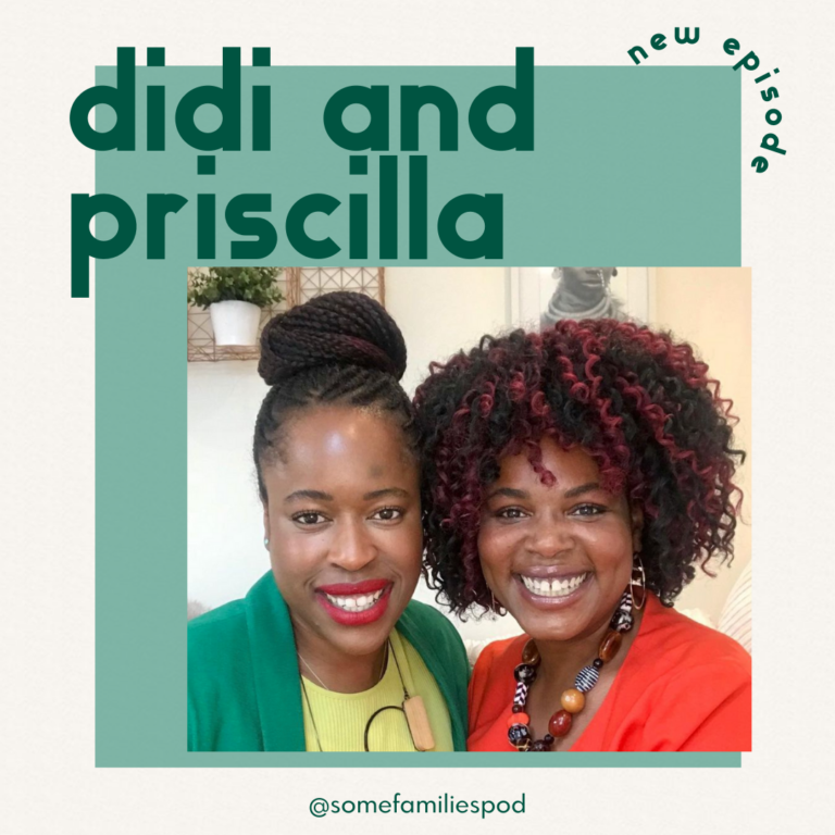 Adoptive mums; Didi and Priscilla, advocates for adoption, representation and LGBT families