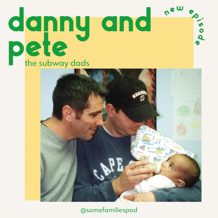 'I found a baby on the subway.' Danny and Pete; The Subway Dads from New York