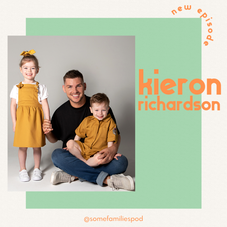 TV's finest Kieron Richardson a proud parent to four year old twins